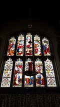 Image for Stained Glass Windows - St Mary & St Peter - Harlaxton, Lincolnshire