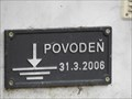 Image for Vyska hladiny pri povodni - Horni Loucky, Czech Republic