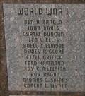 Image for World War I Memorial - Mercer County World Wars Memorial - Princeton, MO