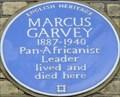 Image for Marcus Garvey - Talgarth Road, London, UK