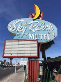 Whole Sky Ranch Motel Sign, Las Vegas, Nevada