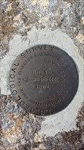 Image for AH8153 - USGS 'BELL' Reference Mark 1 - Mineral County, NV