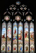 Image for Scenes from the New Testament - Church of St Mary - Denbigh, Clwyd, Wales.