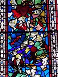 Image for Puzzle Window - Church of St Cuthburga - Wimborne Minster, Dorset, UK.