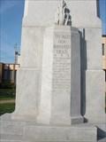 Image for Robert Laurence Binyon - World War One Cenotaph - Renfrew, Ontario Canada