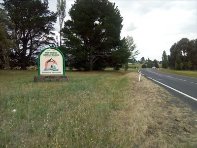 Location view of the sign.1218, Sunday, 30 December, 2018