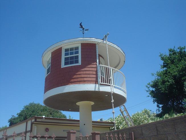 Circular House On A Stick Concord California Odd Shaped
