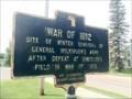 Image for War of 1812 - Fort Covington, New York