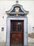 Image for Door to grammar school of 1747 - Trochtelfingen, Germany