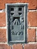 Image for Flush bracket on Seaford Old School, Seaford, Sussex.