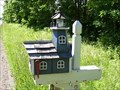 Image for Pymatuning Lighthouse mailbox