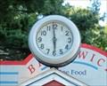 Image for Brunswick Diner Clock - Brunswick ME
