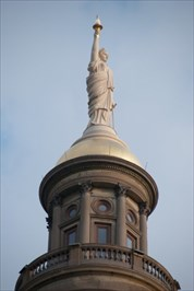 Miss Freedom atop Georgia State Capitol