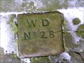 Image for WD 28 boundary stone, Chester, Cheshire