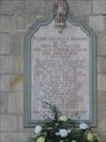 Image for Chilton  War Memorial, Church of St Mary