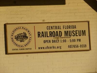 Central Florida Railroad Museum - Winter Garden, Florida, USA.