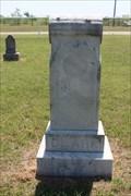 Image for Edna B. Clark - Cross Cut Cemetery - Cross Cut, TX
