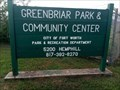 Image for Greenbriar Park - Ft. Worth, Texas