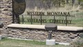 Image for Western Montana State Veterans Cemetery - Missoula, Montana