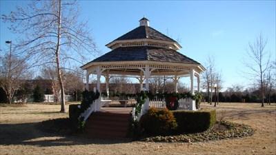 David Burr Park Gazebo University Of Oklahoma Norman