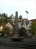 Image for Obelisk on a Fountain - Baden, AG, Switzerland