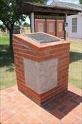 Image for 1939 - Snyder School Cornerstone - Snyder Heritage Village, Snyder TX