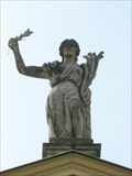 Image for Greek Gods - The Temple of Concord and Victory, Stowe Landscape Gardens, Buckinghamshire, UK