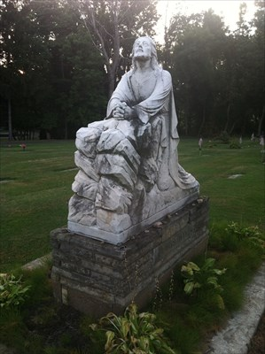 Christ in the Garden of Gethsemane - Erie, PA - Statues of Religious