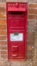 Image for Victorian Wall Post Box - Little Bognor, Fittleworth, West Sussex, UK