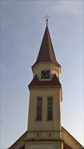 Image for Clocks at Church St. Valentin in Háj ve Slezsku, Czech Republic