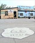 Image for Historic Route 66 - Tumbleweed Grill - Texola, Oklahoma, USA.