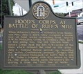 Image for Hood's Corps at Battle of Ruff's Mill - GHM 033-75 – Cobb Co., GA