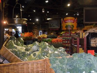 Vue intérieur des fruits et légumes.  View inside fruits and vegetables.
