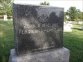 Image for John A. McClure - Rockfield Cemetery - rural Fountain County, IN