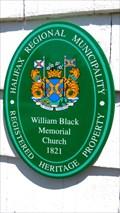 Image for William Black Memorial United Church - 1821 - Glen Margaret, NS