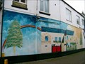 Image for Stony Stratford Mural - North Wall. Milton keynes, Buckinghamshire, UK