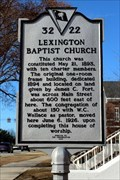 Image for 32-22 Lexington Baptist Church