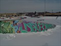 Image for Graffiti At the skate park.