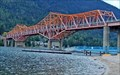 Image for Intoxicated men climb Nelson's big orange bridge