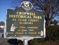 Image for Cropwell Historical Park - Saint Clair County, AL