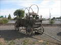 Image for Old wagon, Boardman, Oregon
