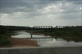 Image for Santa Fe RR bridge over the Red River -- TX/OK border nr Gainesville TX