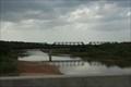Image for Santa Fe RR bridge over the Red River -- TX/OK border nr Gainesville TX
