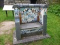 Image for Consall Forge Mosaic Community Seat - Consall, Wetley Rocks, Stoke-on-Trent, Staffordshire, UK.