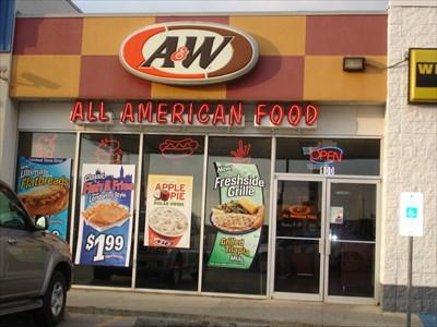 Aw Grapevine Texas A W Restaurants On Waymarkingcom