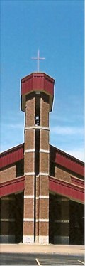 Image for Sacred Heart Catholic Church Bell Tower - Troy MO