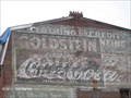 Image for Coca-Cola Painted Advertisements, Store Building - Taunton, MA