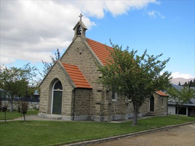 St Dunstan's Catholic Church - Clyde, New Zealand - This Old