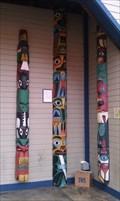 Image for 15' Chief Shaik Totem Pole - Ye Olde Curiosity Shop - Seattle, WA