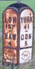 Image for Milestone - A638, Great North Road, Nr Rossington, Yorkshire, UK.